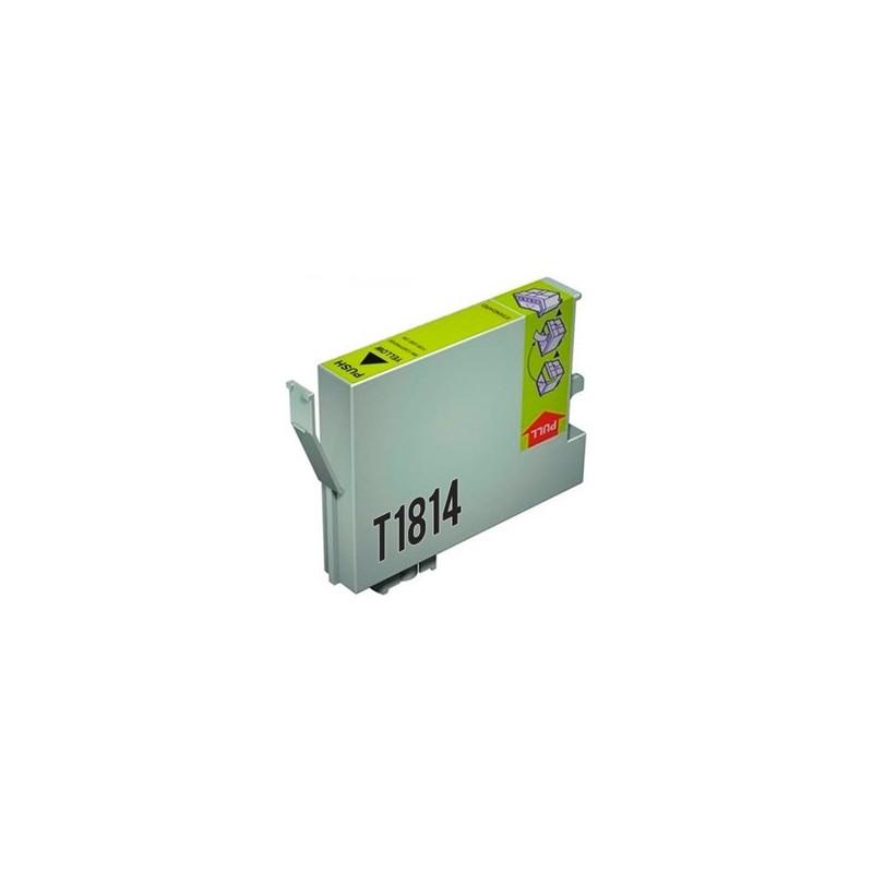 Tinta Compatible Epson 18XL Amarillo T1814