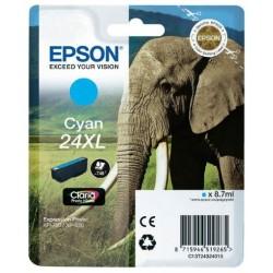 Tinta Epson 24XL Cian T2432