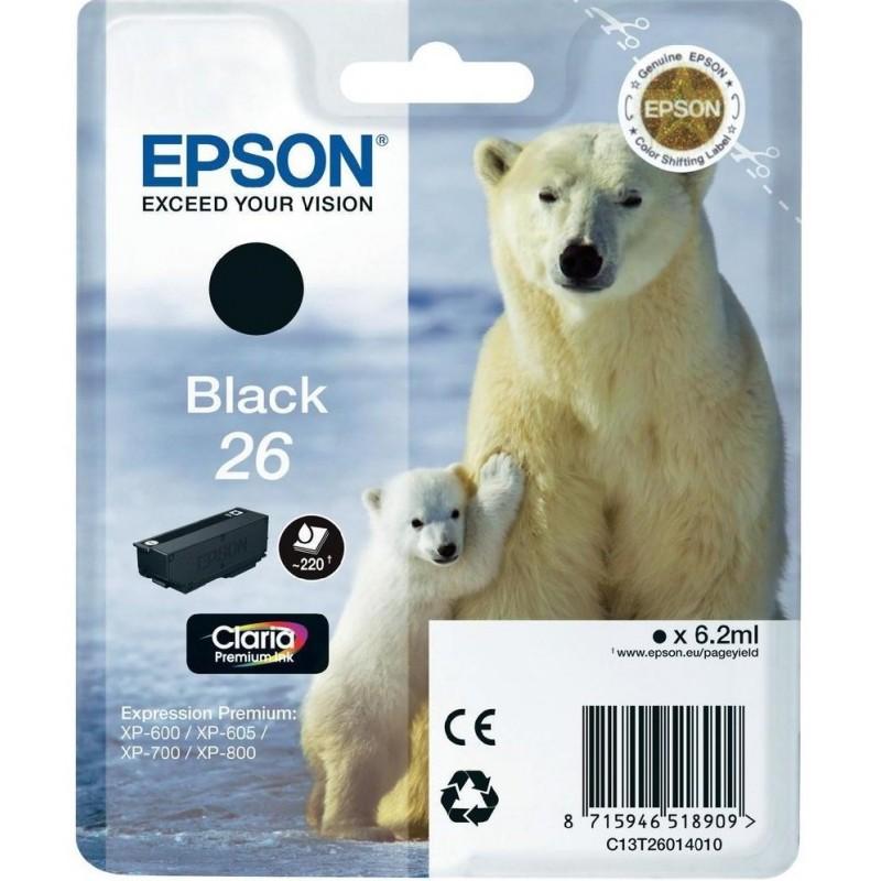 Epson T2601 Black Ink 26