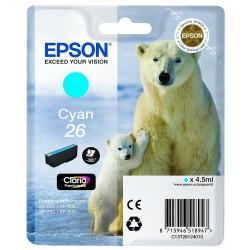 Tinta Epson 26 Cian T2612