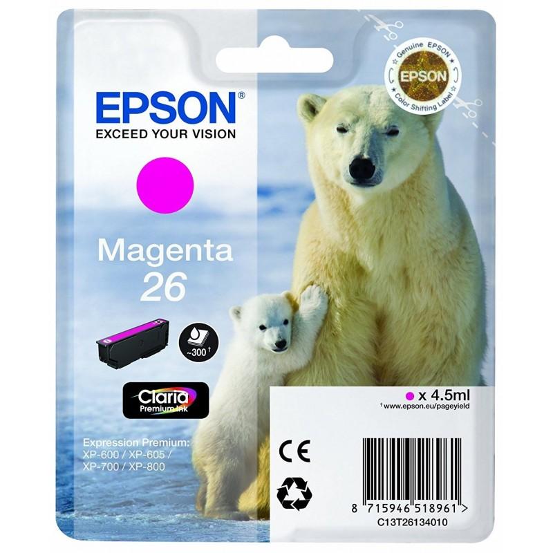 Tinta Epson 26 Magenta T2613