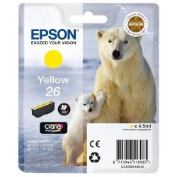 Tinta Epson 26 Amarillo T2614