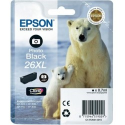 26XL Black Ink Epson T2631 Photo