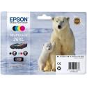 Tinta Epson 26XL Pack de los 4 Colores T2636