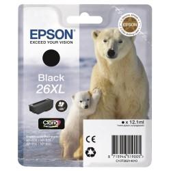 Tinta Epson 26XL Negro T2621