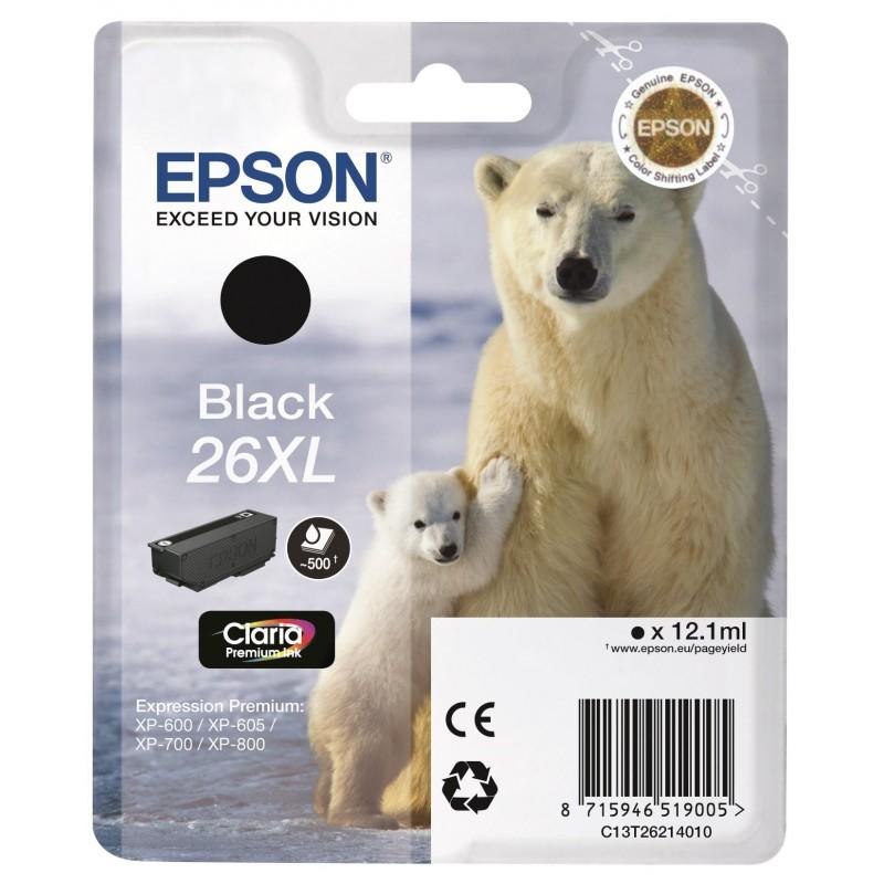 26XL Black Ink Epson T2621