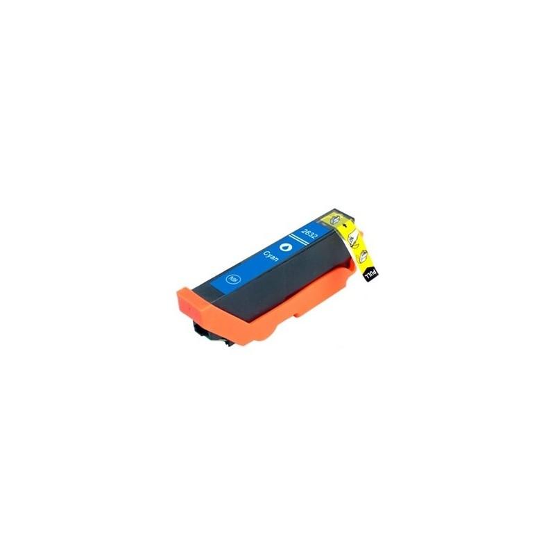 Tinta Compatible Epson 26XL Cian T2632