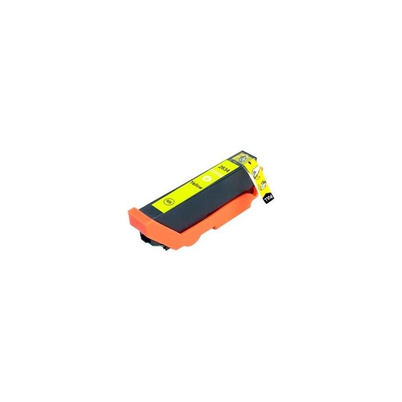 Tinta Compatible Epson 26XL Amarillo T2634