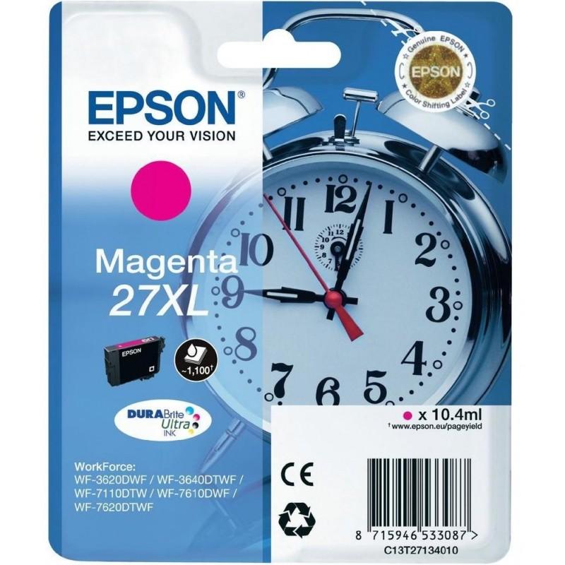 Tinta Epson 27XL Magenta T2713