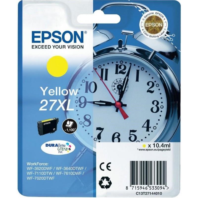 Tinta Epson 27XL Amarillo T2714