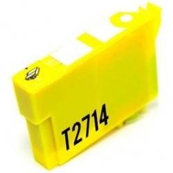 Tinta Compatible Epson 27XL Amarillo T2714