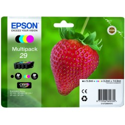 Tinta Epson 29 Pack de los 4 Colores T2986