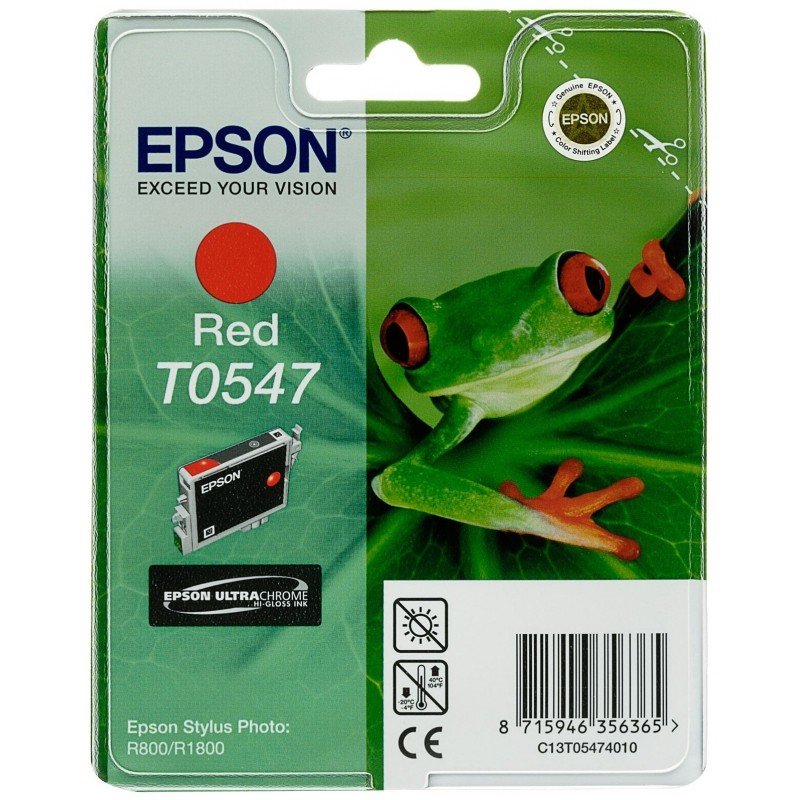 Epson T0547 Red Ink