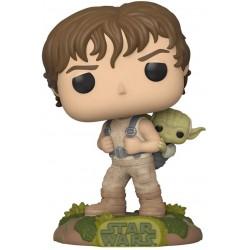 Figura Funko Pop! Star Wars The Empire Strikes Back Luke Skywalker y Yoda