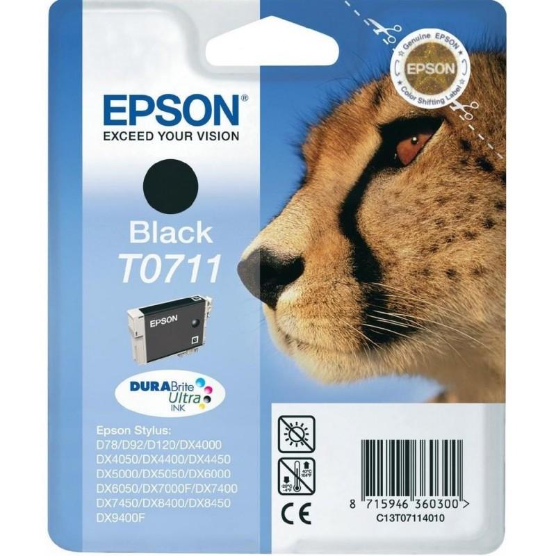 Tinta Epson T0711 Negro