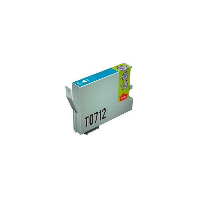 Compatible Epson T0712 Ink Cyan