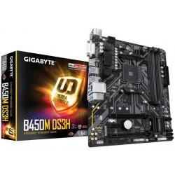 GIGABYTE GA-B450M DS3H:...