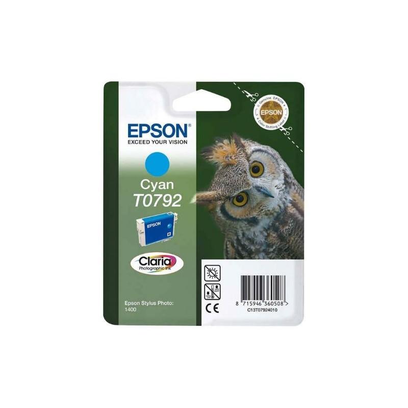 Tinta Epson T0792 Cian