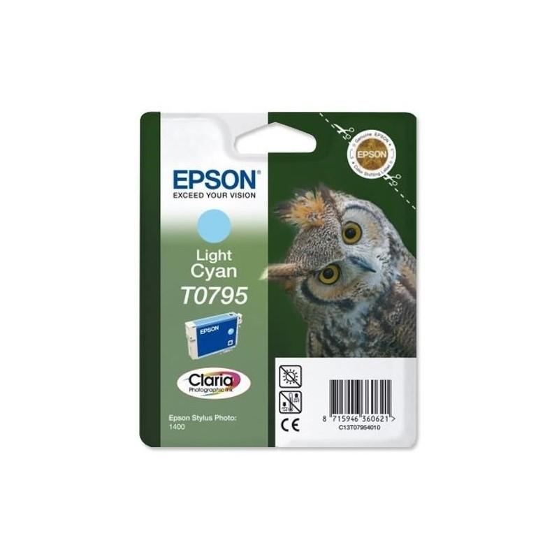 Tinta Epson T0795 Cian Claro