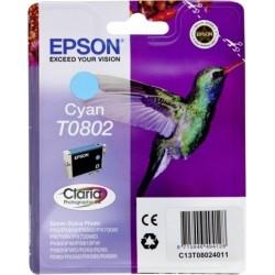 Tinta Epson T0802 Cian