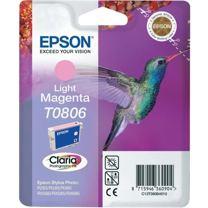 Tinta Epson T0806 Magenta Claro