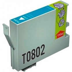 Compatible Epson T0802 Ink Cyan