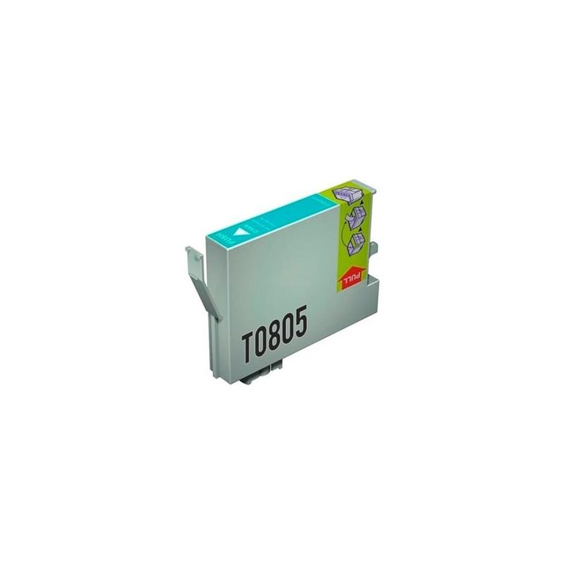 Tinta Compatible Epson T0805 Cian Claro