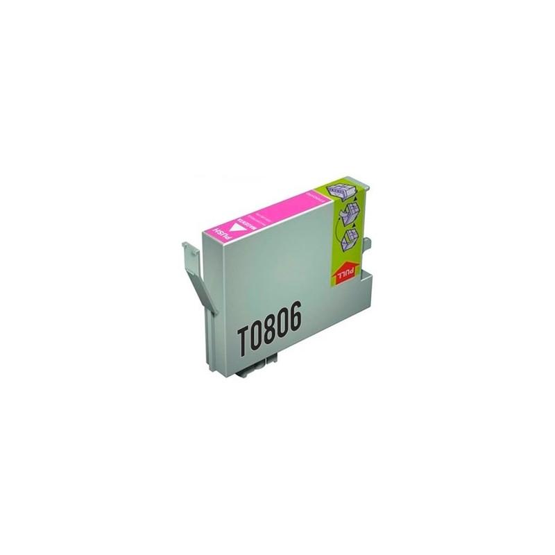 Tinta Compatible Epson T0806 Magenta Claro