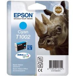 Tinta Epson T1002 Cian