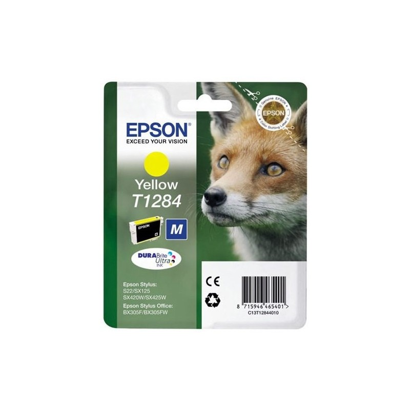 Tinta Epson T1284 Amarillo