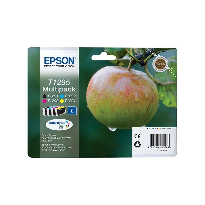 Epson T1295 ink pack 4 colors