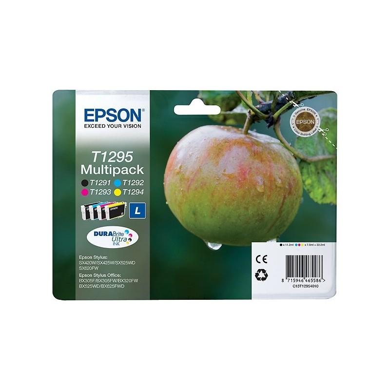 Tinta Epson T1295 Pack de los 4 Colores