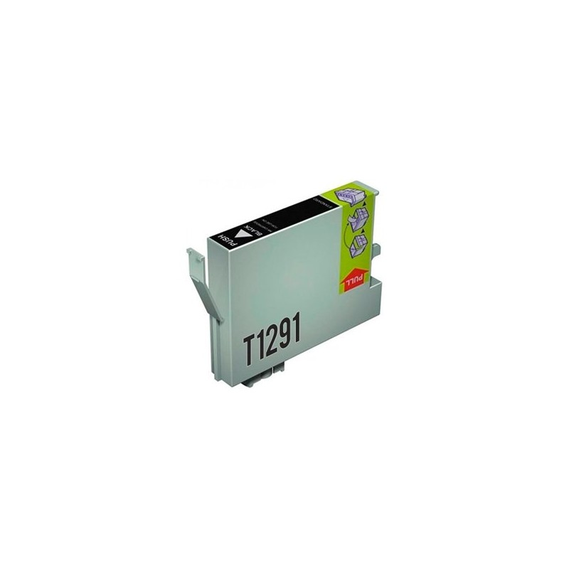 Tinta Compatible Epson T1291 Negro