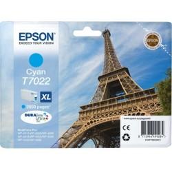 Tinta Epson T7022 XL Cian