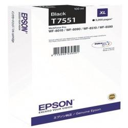 Tinta Epson T7551 Negro