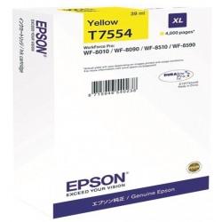 Tinta Epson T7554 Amarillo