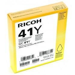 Tinta Ricoh GC41Y Amarillo