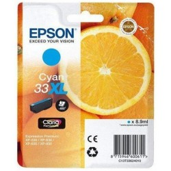 33XL Ink Epson T3362 Cian