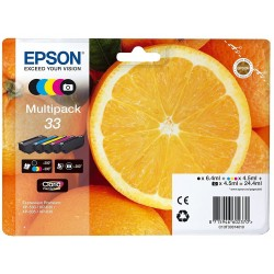 Epson 33 Pack of 4 Colors T3337