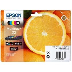 Tinta Epson 33 Pack de los 4 Colores T3337