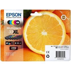 Tinta Epson 33XL Pack de los 5 Colores T3357