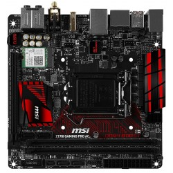 MSI motherboard PRO Gaming AC Z170I