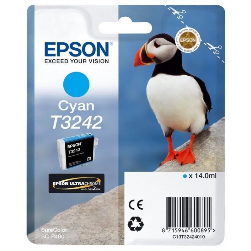 Tinta Epson T3242 Cian