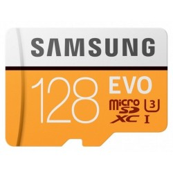 Tarjeta MicroSD 128GB Samsung Evo