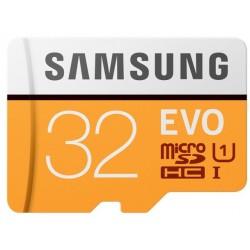 Tarjeta MicroSD 32GB Samsung Evo