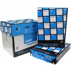 Folios A4 Caja de 5 Paquetes de 500 Unidades Paperbox