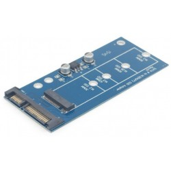 """Adaptador de Disco SSD M.2 (NGFF) - mSATA 1,8"""" Cablexpert"""