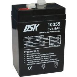 Dks bateria de plomo acido...
