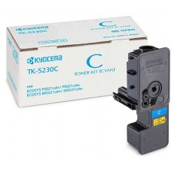 Tóner Kyocera TK-5230C Cian