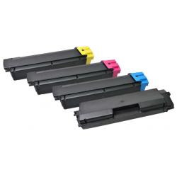 Tóner Compatible Kyocera TK-580 Pack de los 4 Colores V7
